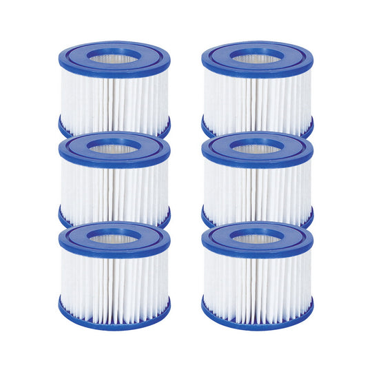 Bestway 6X Filter Cartridge For Lay-Z-Spa Lay Z Spa Pool Cartridge Filter - HomeOutdoorsDirect