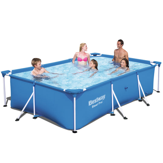 Bestway Steel Above Ground Swimming Pool - HomeOutdoorsDirect