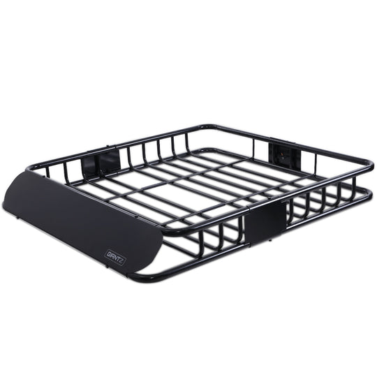 Giantz Universal Roof Rack Basket Car Luggage Carrier Steel Vehicle Cargo 112cm