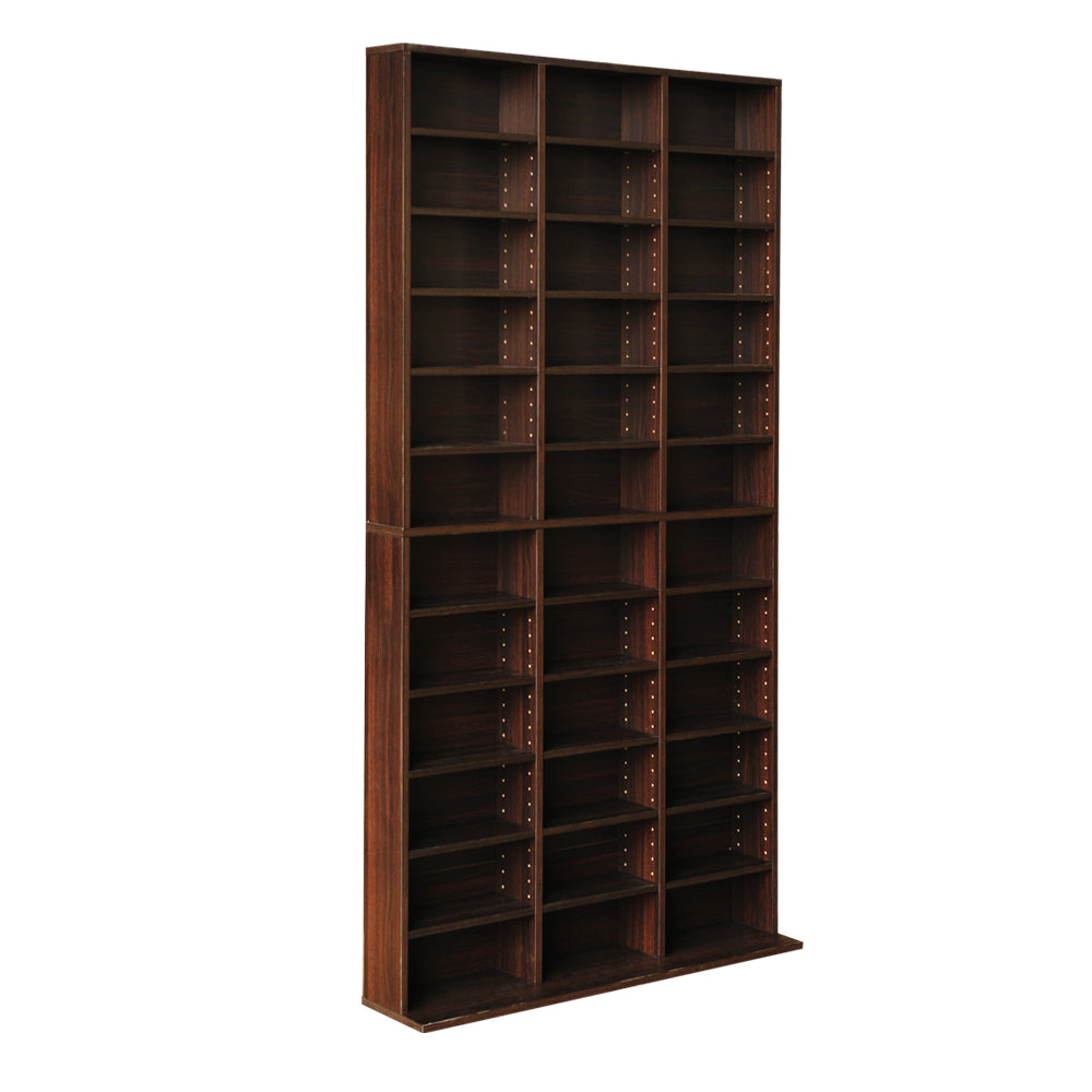 Artiss Adjustable Book Storage Shelf Rack Unit - Expresso