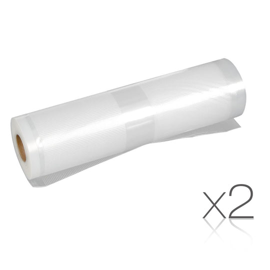 Set of 2 6m Food Sealer Rolls - HomeOutdoorsDirect