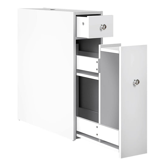 Bathroom Storage Cabinet White - HomeOutdoorsDirect