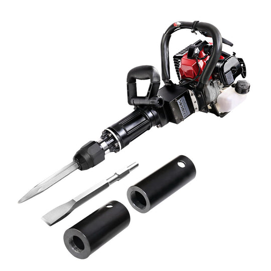GIANTZ 2in1 Petrol 36cc Pile Post Driver and Jack hammer Star Demolition Jackhammer - HomeOutdoorsDirect