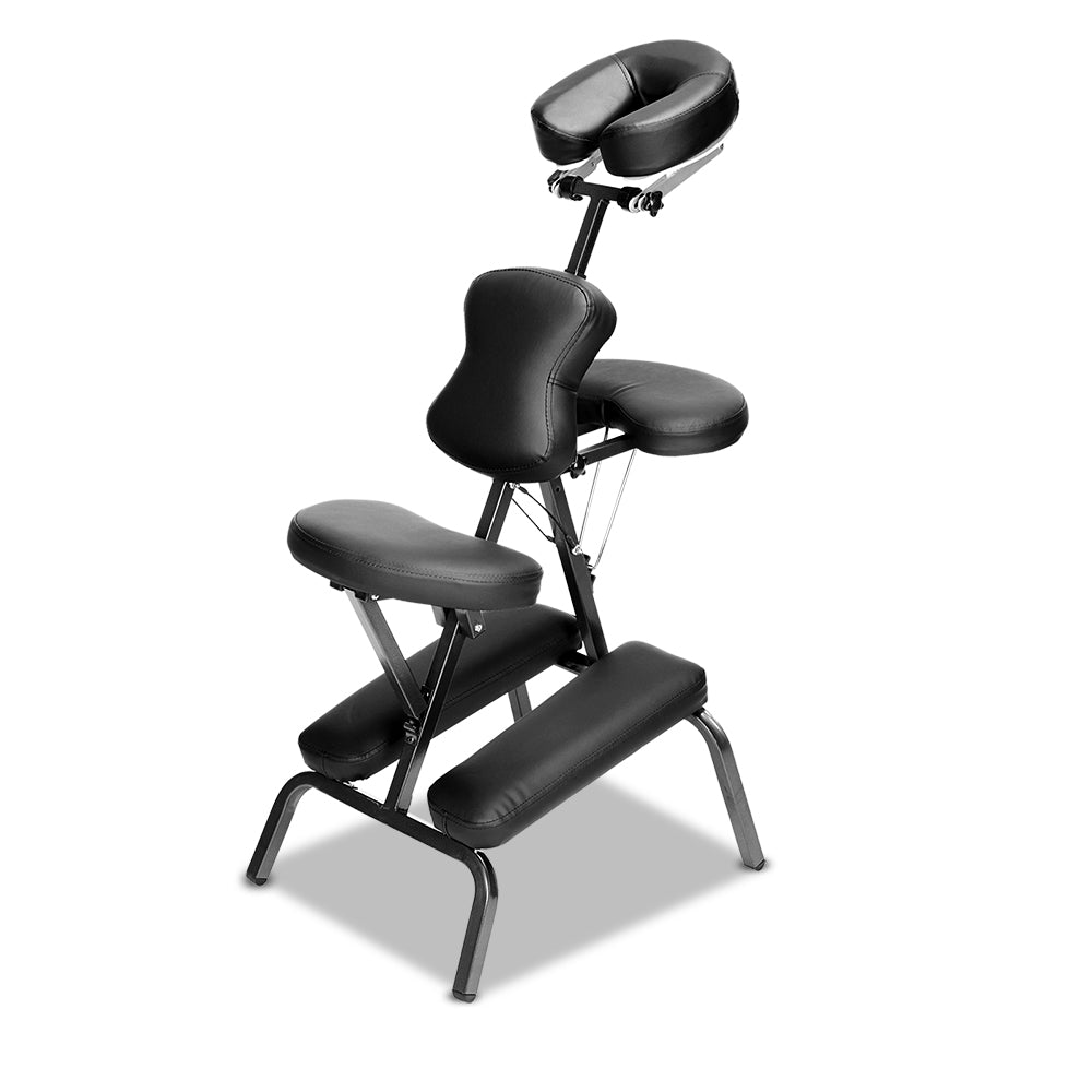 Zenses Massage Chair Massage Table Aluminium Portable Beauty Therapy Bed Tattoo Waxing - HomeOutdoorsDirect
