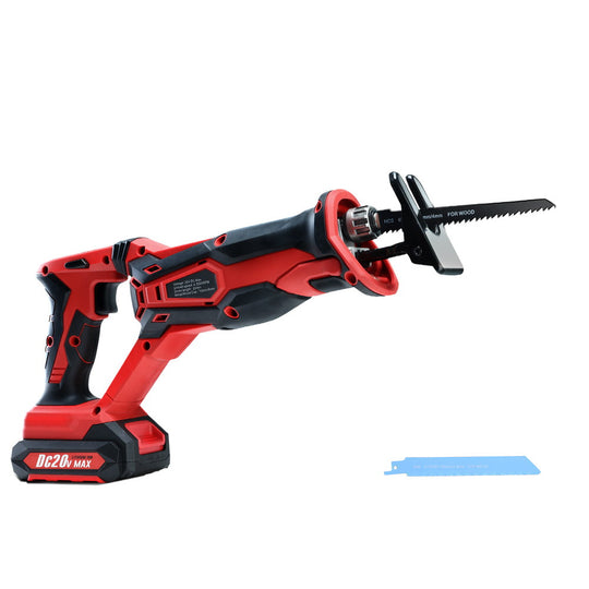 GIANTZ Cordless Reciprocating Saw Electric Corded 20V Lithium Sabre Saw Tool - HomeOutdoorsDirect