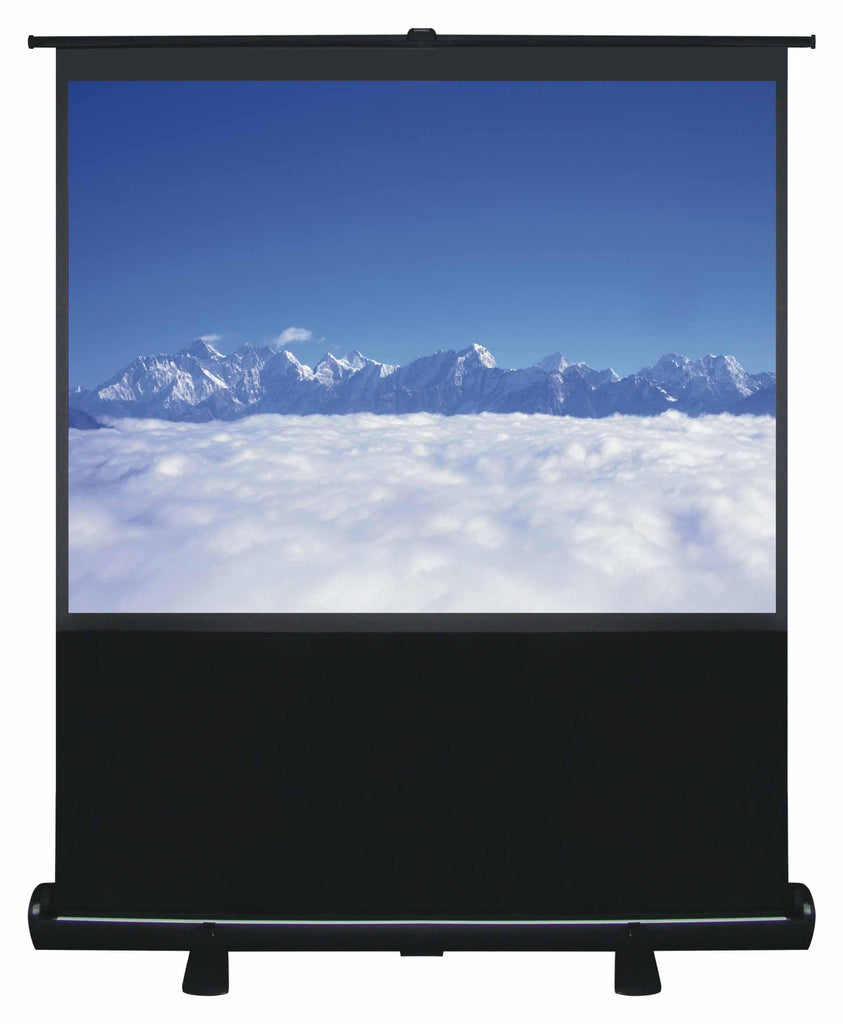 "100"" Pull Up Portable Office Projection Screen - HomeOutdoorsDirect"