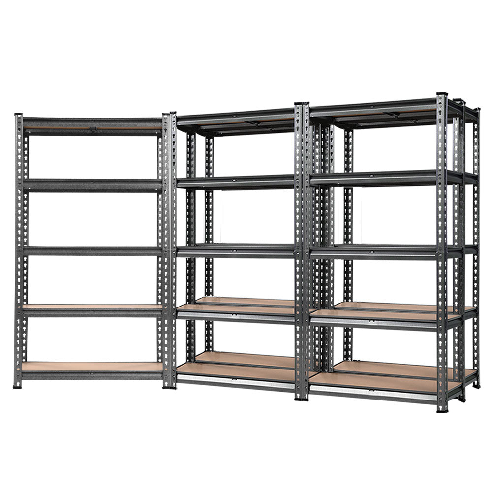 Giantz 5x0.7M Warehouse Racking Shelving Storage Rack Steel Garage Shelf Shelves