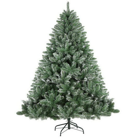 Jingle Jollys 7FT Snow Tips Christmas Tree - HomeOutdoorsDirect