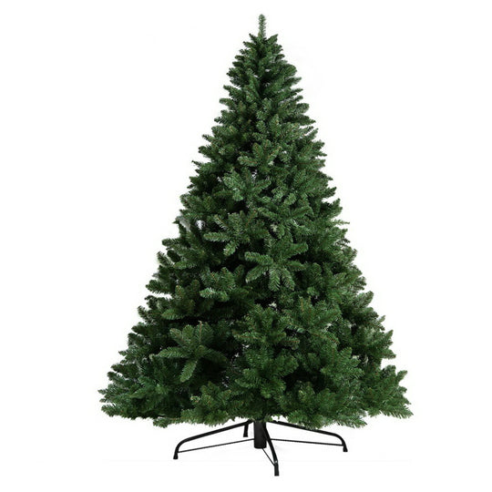 Jingle Jollys 8FT Christmas Tree - Green - HomeOutdoorsDirect