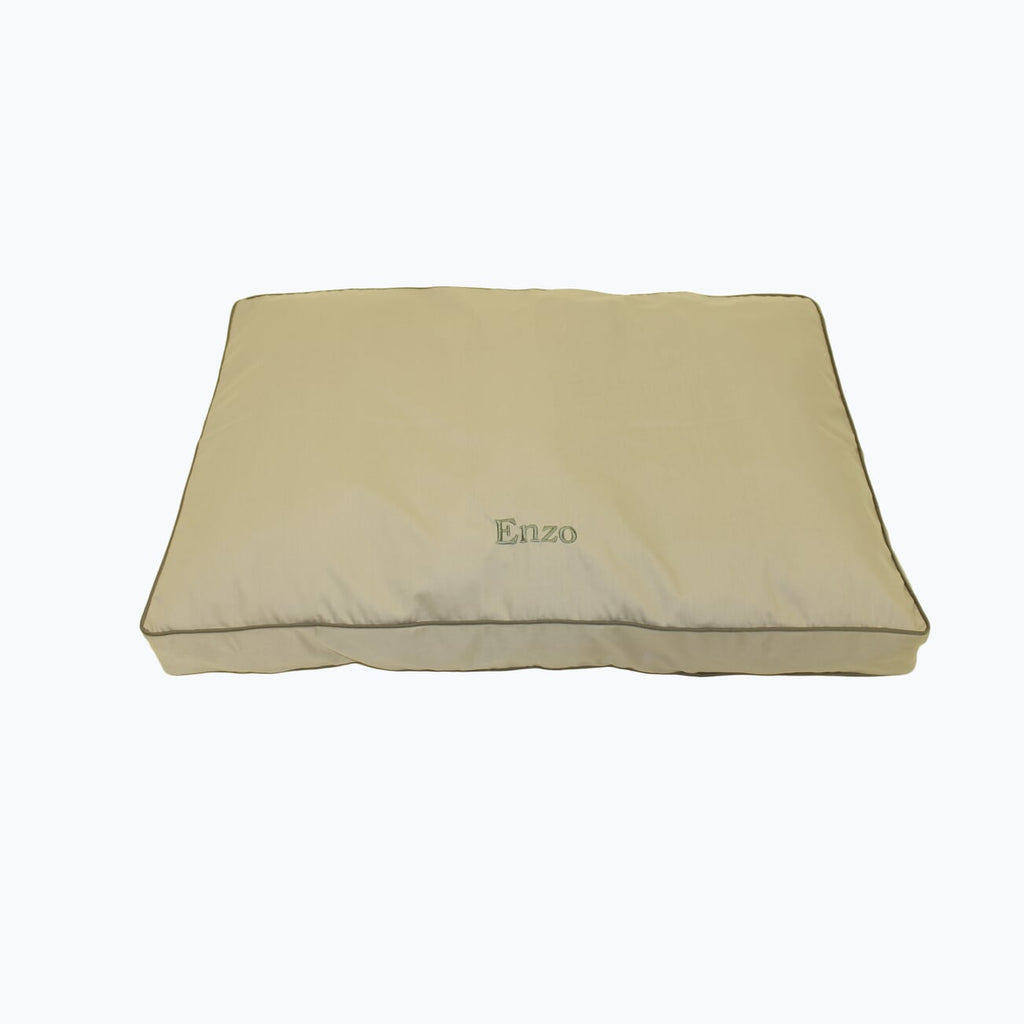 Classic Canvas Rectangle Jamison Pet Bed (Personalize)