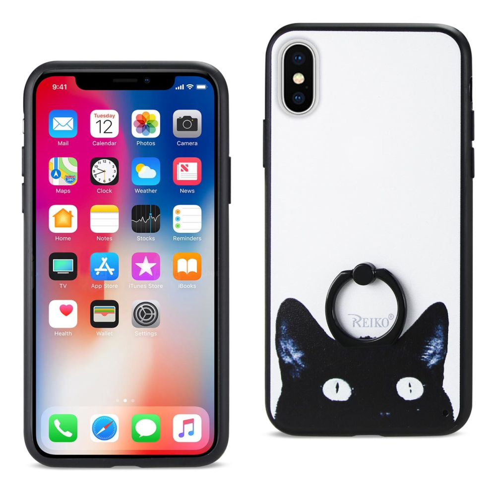 Reiko iPhone X Cat Cellphone Case