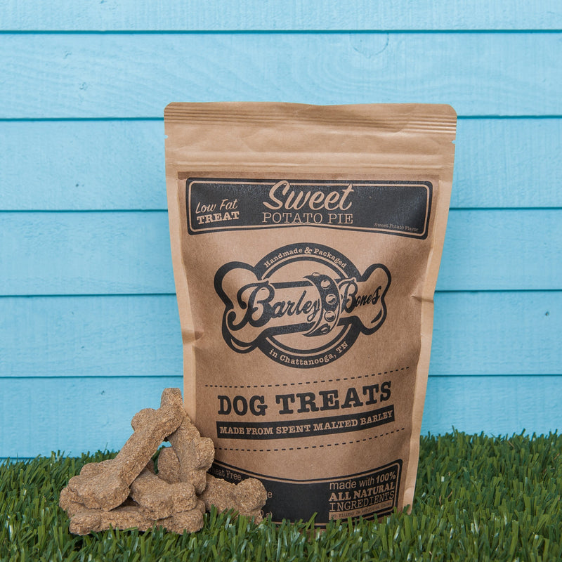 Barley Bones Organic Sweet Potato Pie Craft Dog Treats