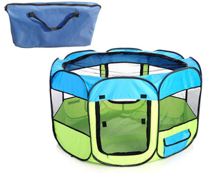 All-Terrain Lightweight Collapsible Travel Pet Dog Playpen Crate