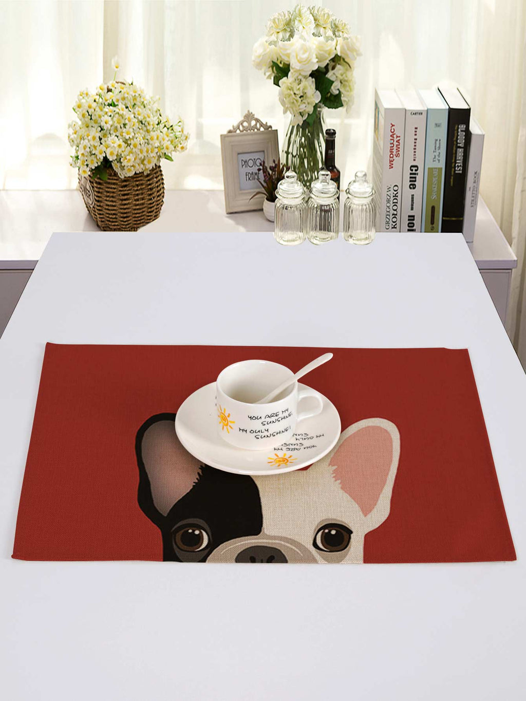 Dog Print Table Placemat