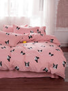 Dog Print Bed Sheet Set