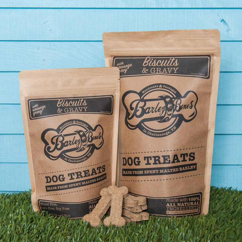 Barley Bones Biscuits & Gravy Craft Dog Biscuit Treats