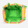 Susan Lanci Premium Designer Tinkie's Garden Green High-End Luxury UltraSuede Pet Cat & Dog Carrier Purse Bag