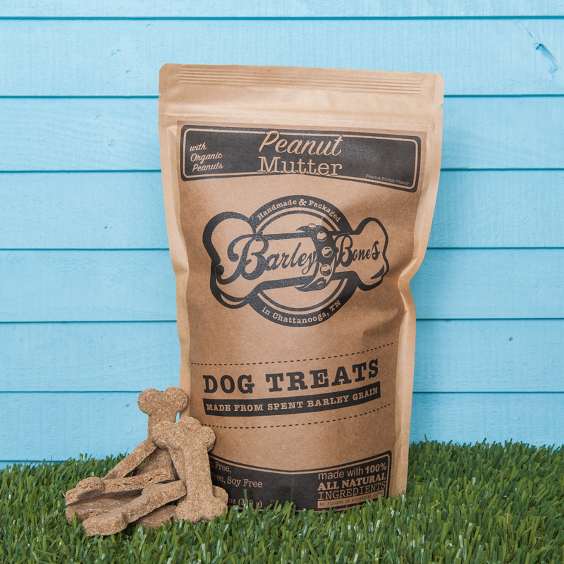 Barley Bones Peanut Mutter Craft Dog Treats