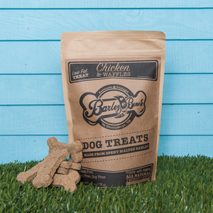 Barley Bones Chicken & Waffles Craft Dog Treats