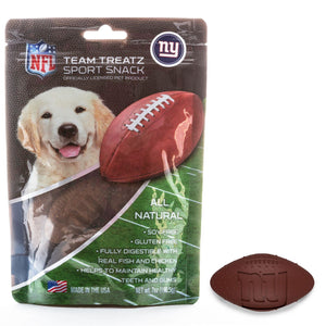 New York Giants All Natural Soy & Gluten Free Dog Treats