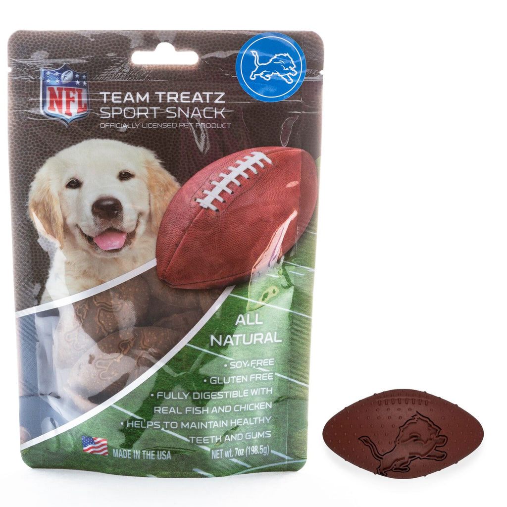 Detroit Lions All Natural Soy & Gluten Free Dog Treats