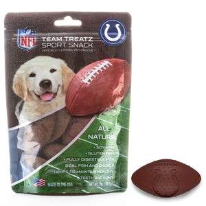 Indianapolis Colts All Natural Soy & Gluten Free Dog Treats