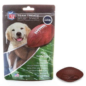 Seattle Seahawks All Natural Soy & Gluten Free Dog Treats