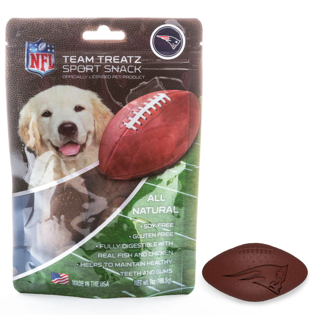 New England Patriots All Natural Soy & Gluten Free Dog Treats