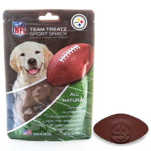 Pittsburgh Steelers All Natural Soy & Gluten Free Dog Treats