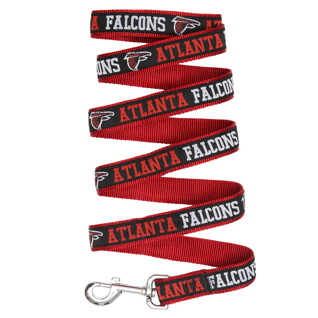 Atlanta Falcons NFL Football Ribbon Woven Nylon Dog Leash