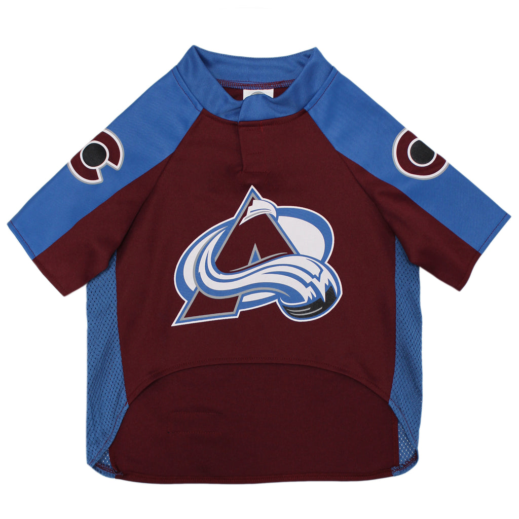Official Licensed Pet Sports Jersey Apparel - Colorado Avalanche Hockey NHL Dog Jersey