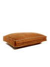 B&G Martin Microsuede Cognac Water Resistant Honey Detail Ultra Luxe Pet Bed (Personalize)