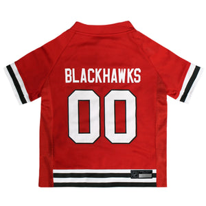 Official Licensed Pet Sports Jersey Apparel - Chicago Blackhawks Hockey NHL Dog Jersey