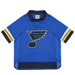 Official Licensed Pet Sports Jersey Apparel - St. Louis Blues Hockey NHL Dog Jersey