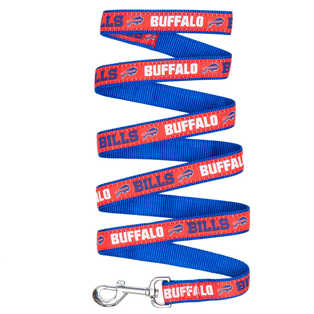 Buffalo Bills NFL Football Ribbon Woven Nylon Dog Leash