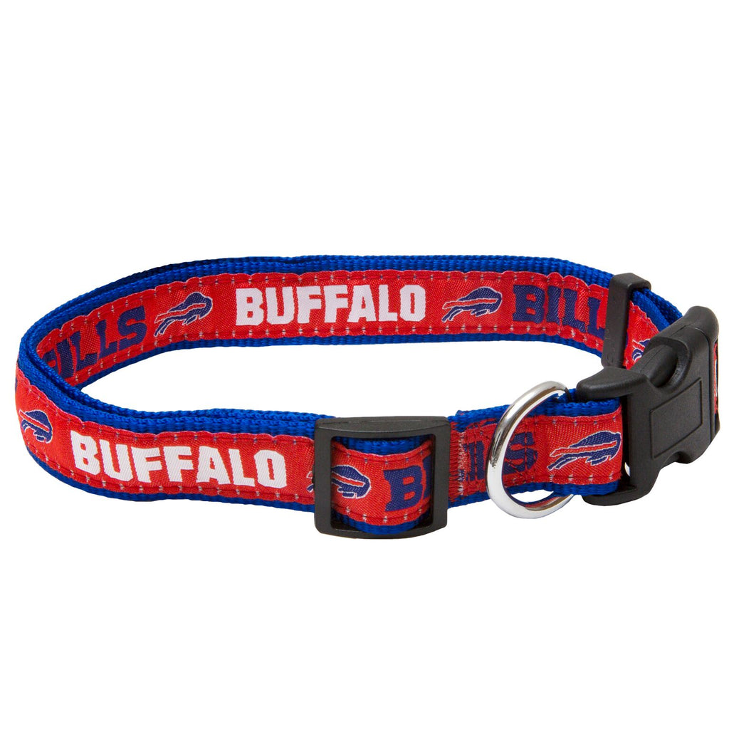 Buffalo Bills NFL Sports Nylon Ribbon Dog Collar