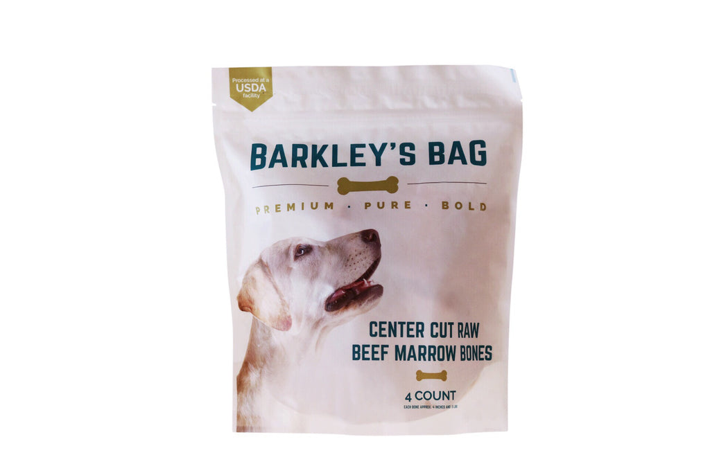 Barley's Bag Raw Beef Bone Marrow Dog Treats