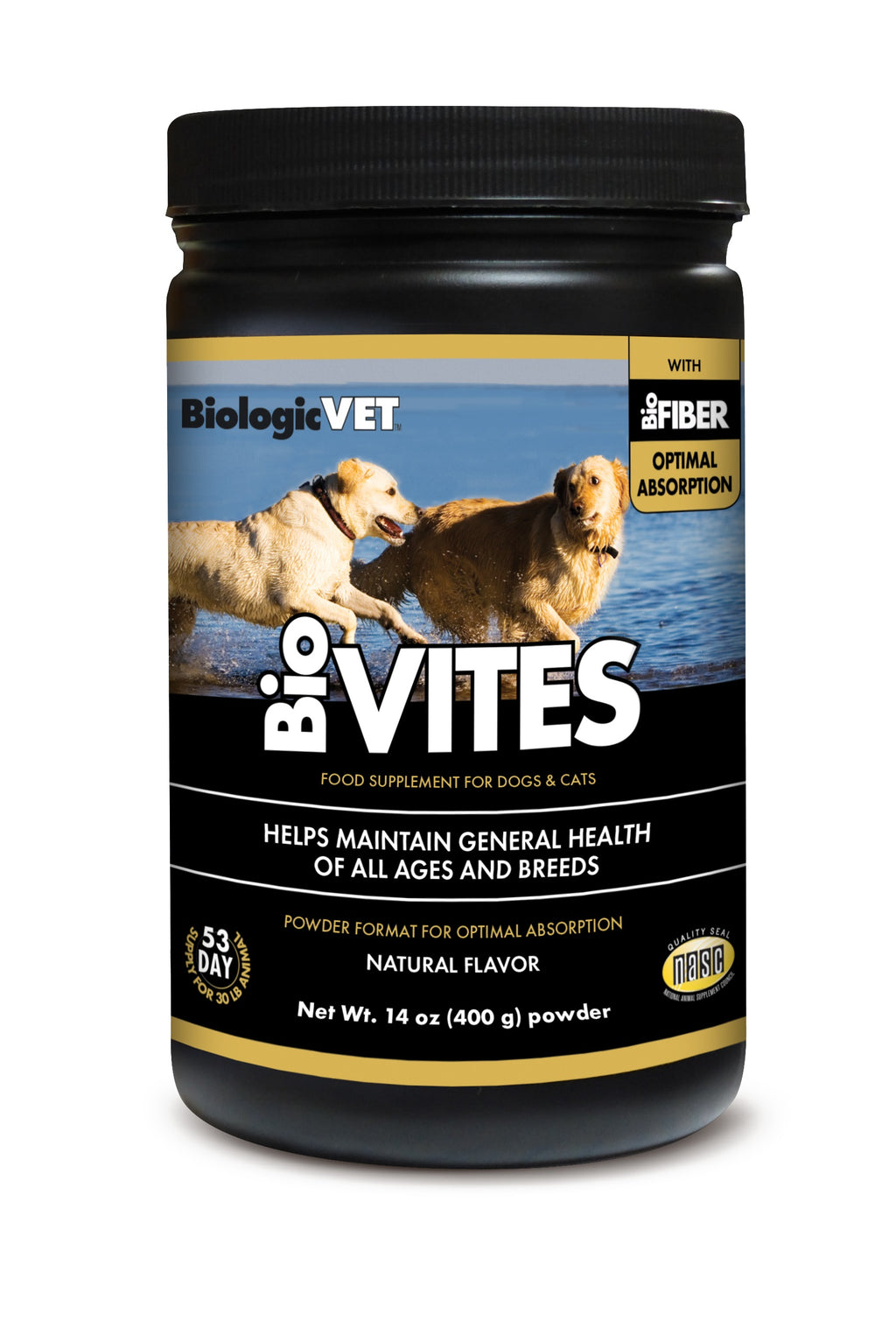 BioVITES Complete Multi-Nutrient Pet Cat & Dog Powder Supplement