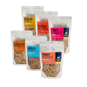 Bundle of 6 Healthy All Natural Grain Free Dry Dog Treats