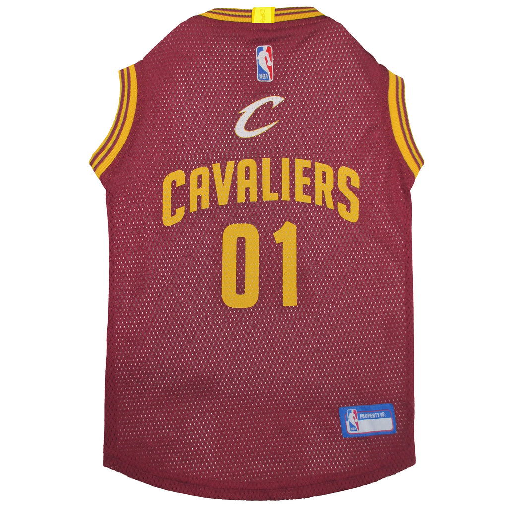 Official Licensed Pet Sports Jersey Apparel - Cleveland Cavaliers Basketball NBA Dog Jersey