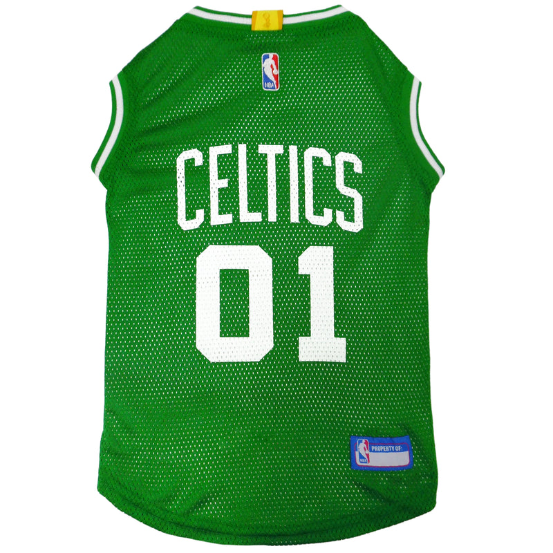 Official Licensed Pet Sports Jersey Apparel - Boston Celtics Basketball NBA Dog Jersey