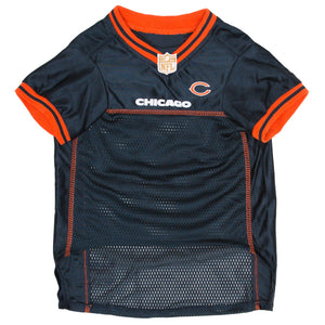 Official Licensed Pet Sports Jersey Apparel - Chicago Bears Football NFL Dog Jersey