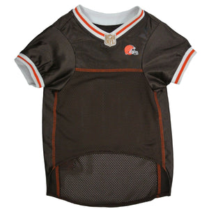 Official Licensed Pet Sports Jersey Apparel - Cleveland Browns Football NFL Dog Jersey