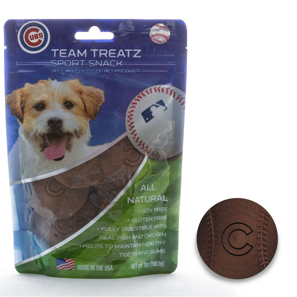 Chicago Cubs All Natural Soy & Gluten Free Dog Treats