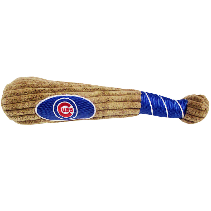Chicago Cubs Plush Baseball Bat Dog Toy