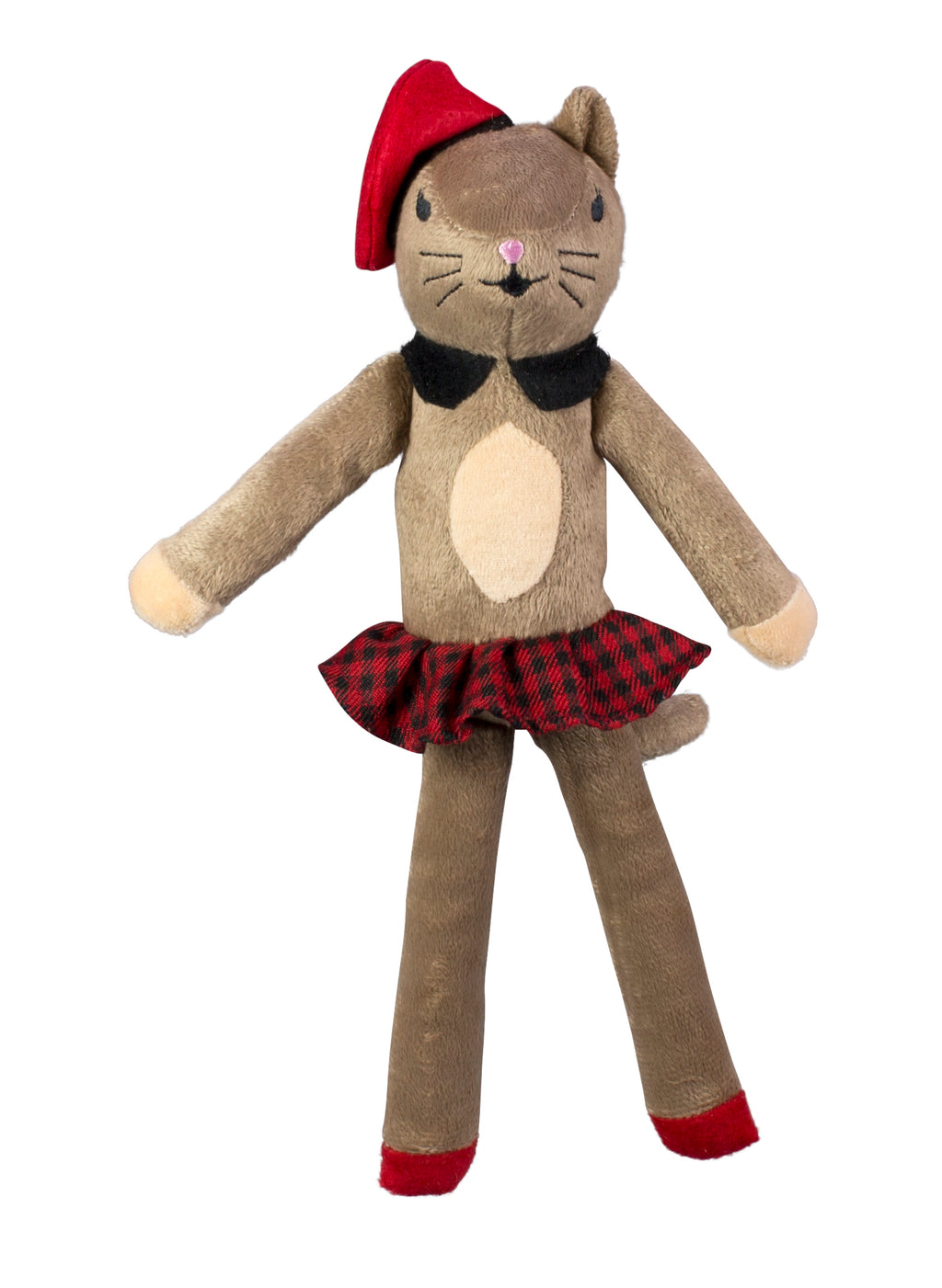 Mon Bebe Chloe Kitty B&G Martin Designer Soft Plush Vintage Parisian Dog Toy