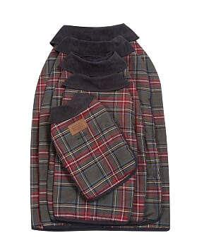 Pendleton Designer Stewart Plaid Reversible Luxury Warm Premium Dog Coat