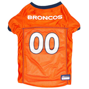 Official Licensed Pet Sports Jersey Apparel - Denver Broncos Football NFL Dog Jersey