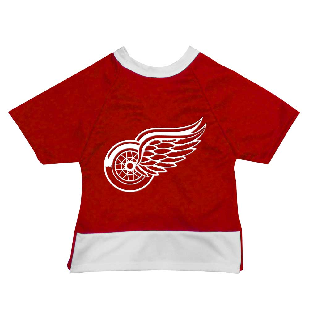 Official Licensed Pet Sports Jersey Apparel - Detroit Red Wings Hockey NHL Dog Jersey