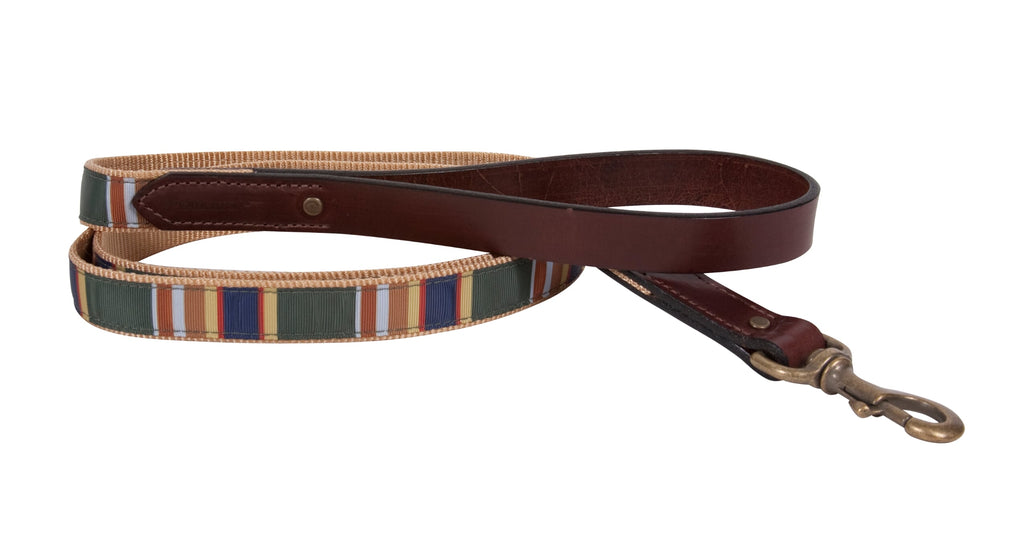 Badlands National Park Green Pendleton Designer Luxury Dog Collar & Leash Set